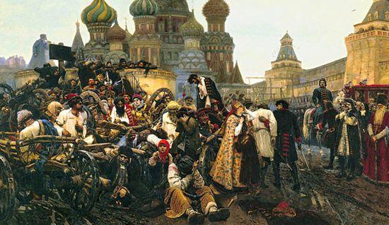 Утро стрелецкой казни В. И. Суриков. 1881 г