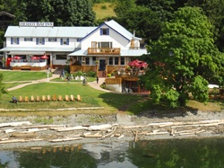 The Heriot Bay Inn   on Quadra Island, BC, Canada  - it's the greatest place to unwind!  Quadra Island is one of the idyllic Northern Gulf Islands and is located just a 10 minute ferry ride from Campbell River off the central east coast of Vancouver Island, British Columbia.