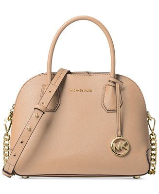 691062f3bfad47 Shop Cindy Medium Pocket Dome Satchel online at Macys.com. The timeless  MICHAEL Michael Kors Cindy Pocket Dome Satchel is the perfect everyday bag  for work, ...