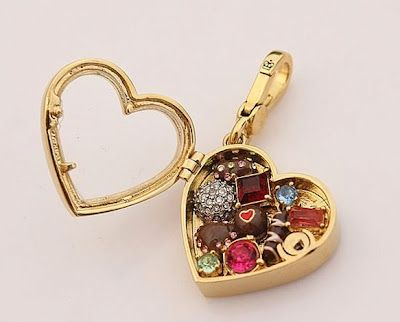 Juicy Couture charm. Heart box of chocolates