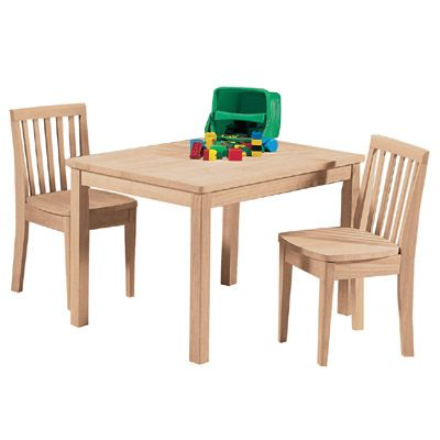 Exceptional Childrenu0027s Furniture   Tables U0026 Chairs   Mission Juvenile Table. Unfinished  ...