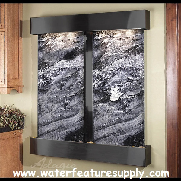 Best The Cottonwood Falls Wall Mounted Water Feature Images On
