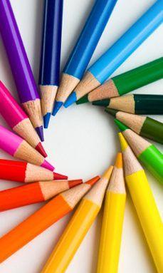 coloured pencils  http://arcreactions.com/m-salon-calgary-website-design-company-project/