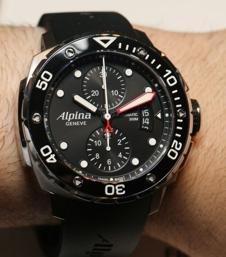 Alpina Extreme Diver 300 Chronograph Automatic Watch Hands-On