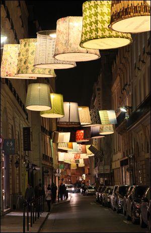 lamps installation - paris