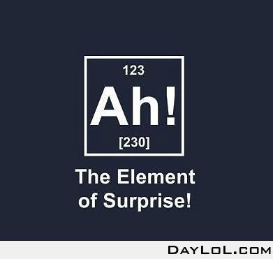element - a substance that can't be separated into a simpler form, see periodic table of elements.