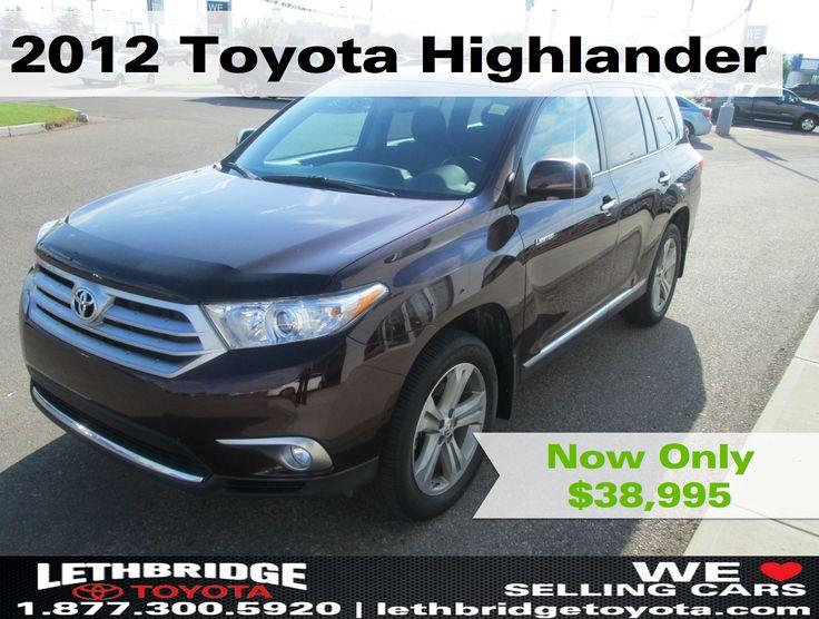 2012 Toyota Highlander for sale in Lethbridge, Alberta