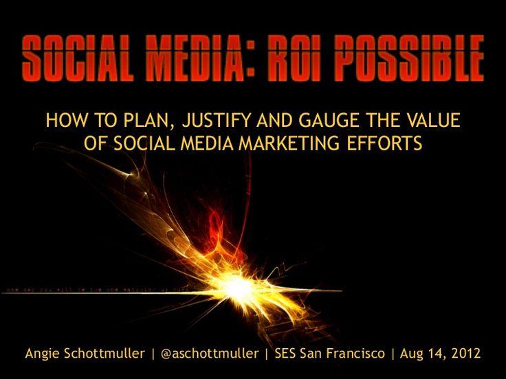 understanding social media roi pdf