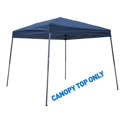 Trademark Innovations 8' x 8' Canopy Top Color: Blue