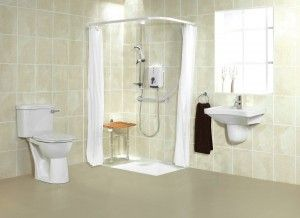 Accessible barrier free wet room shower systems Cleveland, Columbus and Nationwide Sales