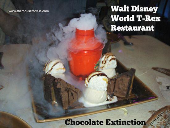 Chocolate Extinction at T-Rex Restaurant at Downtown Disney Marketplace #DisneyDining #DowntownDisney