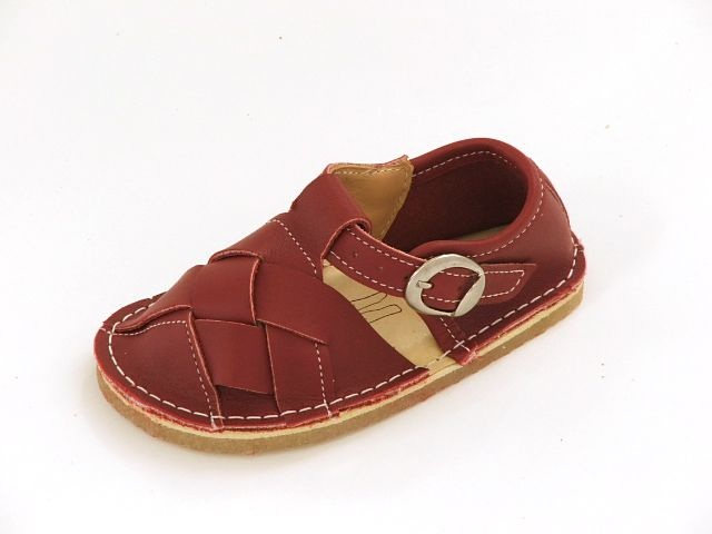 Bear Feet T Strap Woven Toe Brick Red Sandals Pre Order $69.99 http://www.meandmyfeet.com/product/BFTSWBRRed #Bear #Feet #T #Strap #Woven #Toe #Brick #Red #Sandals #Kids #Child #Shoes