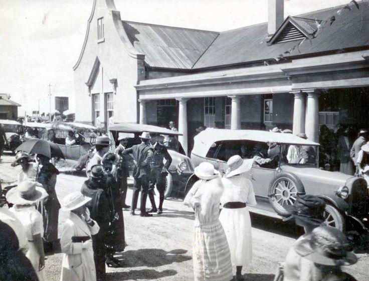 Harpur Avenue Railway Station, Benoni approx 1920