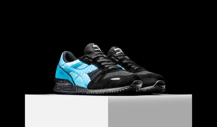 "Pretty cool, not sure exactly how I would wear it  Diadora Titan II ""Black Sea"" (C5928)"