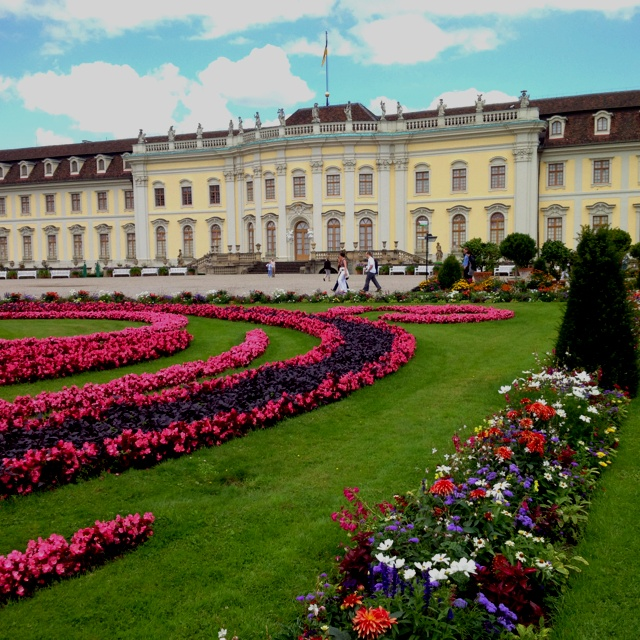 Schloss Ludwigsburg...