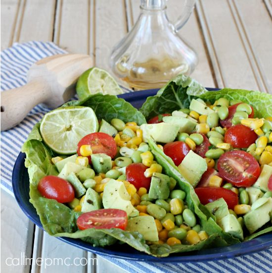 edamame corn avocado salad corn avocado salad corn tomato salad diet ...