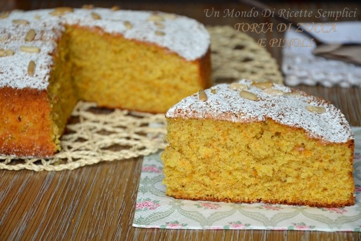 torta di zucca e pinoli