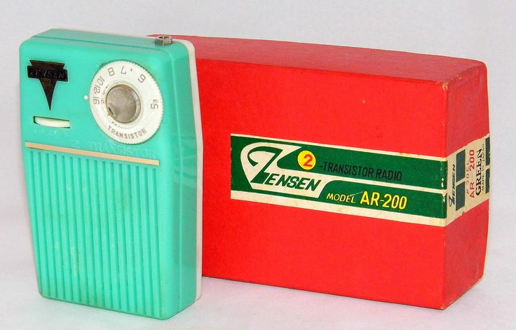 https://flic.kr/p/VUhG7X | Vintage Zensen 2-Transistor Boy's Radio, Model AR-200, AM Band, With Box And Antenna, Made In Japan, Circa 1960 | Dating based on an advertisement for this radio in the Honolulu Star-Bulletin newspaper of December 20, 1960. It was priced at $9.95, on sale from its regular price of $12.50.