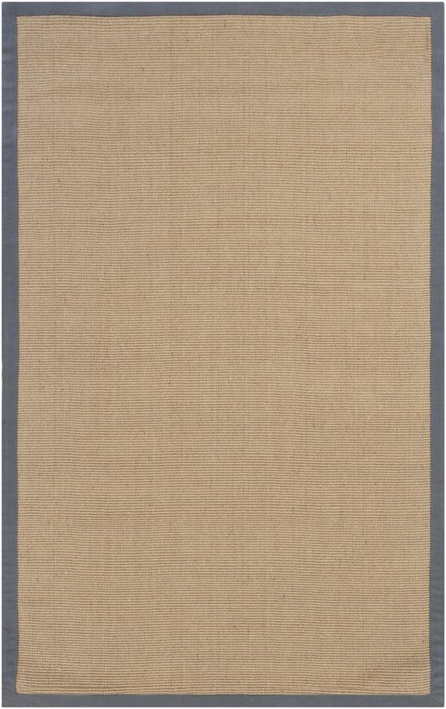 nice chandra rugs baygrey23 handwoven sisal rug rectangular