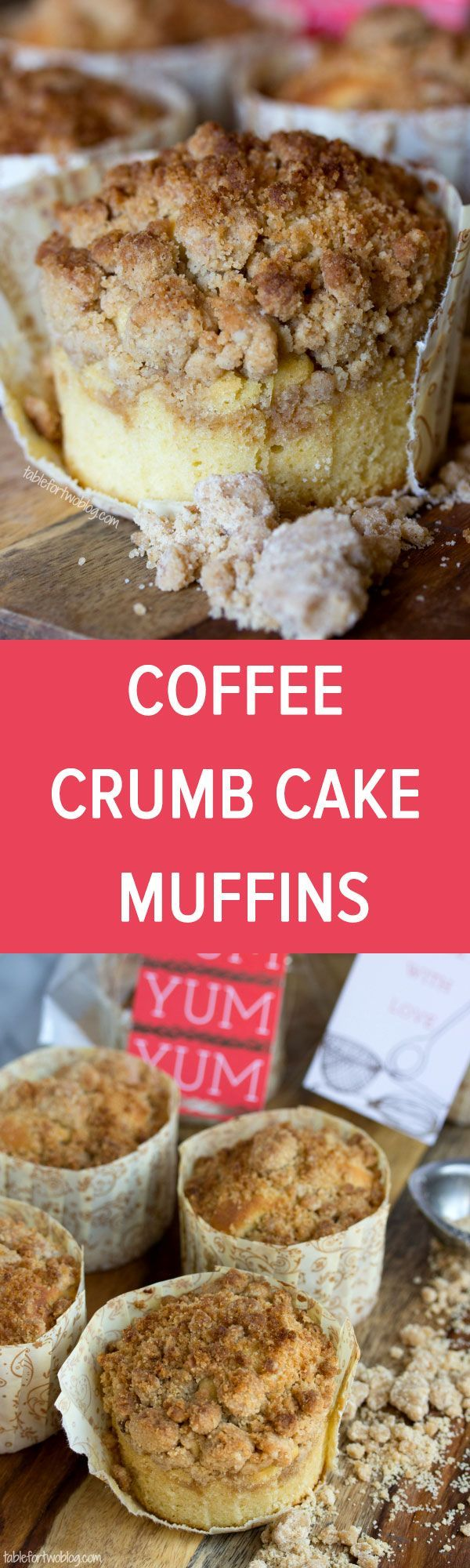New York-Style Coffee Cake Crumb Muffins from http://www.tablefortwoblog.com