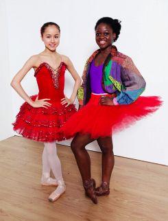 Red Ruby Shine • balletomanegirl: Miko Fogarty and Michaela...