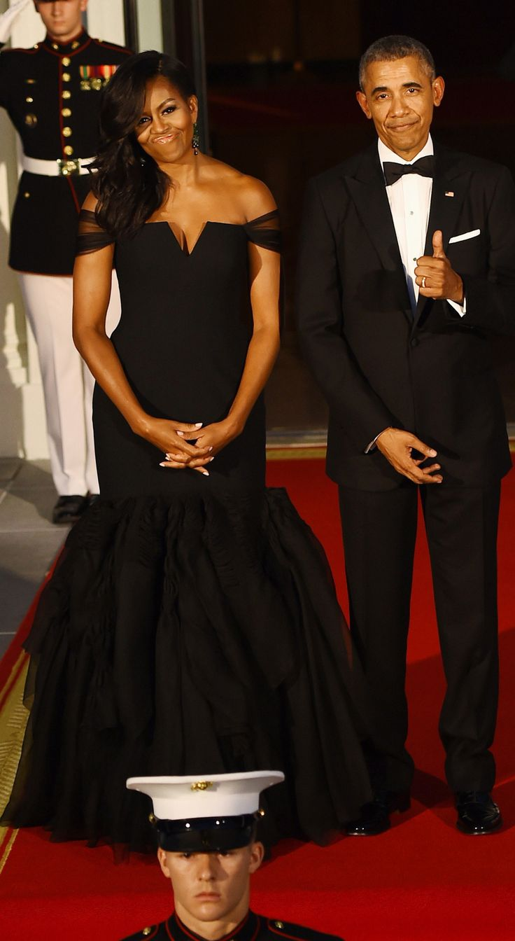 """youngblackandvegan: """" rated-beautiful: """" flowersinmyphro: """" in-vagina-we-thrust: """" """"Yo Barack, that's you?"""" """" BADDEST FLOTUS OF ALL TIME LIKEEEEEEE """" I'm gonna miss them """" the look of a man who knows..."""