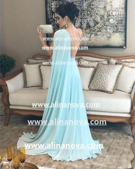 b2330b9d89 Item Description : A Glamorous Form Satin Floor Length Dress Featuring One  Shoulder And Nude Back. Perfect For Prom,Evening,Formal Wedding,Bridesmaids  Or ...