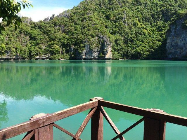 Ko Mae koh, lagoon at Angthong national marine park.