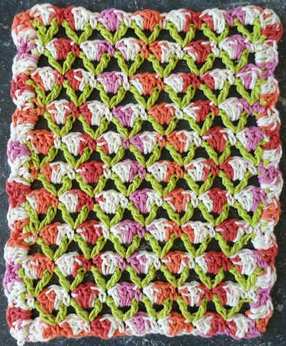 Dishcloth In Spanish: 1000+ Images About Crochet Stitch Patterns On Pinterest