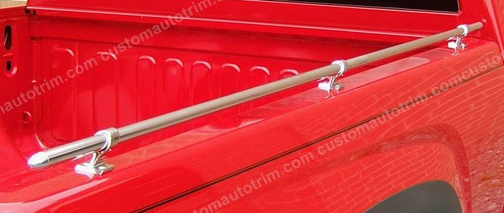 Mini-Tube Bullet Style Truck Bed Rails - 96 Inches Long X 7/8 Inches Round