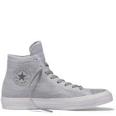 Chuck Taylor All Star X Nike Flyknit High Top Wolf Grey