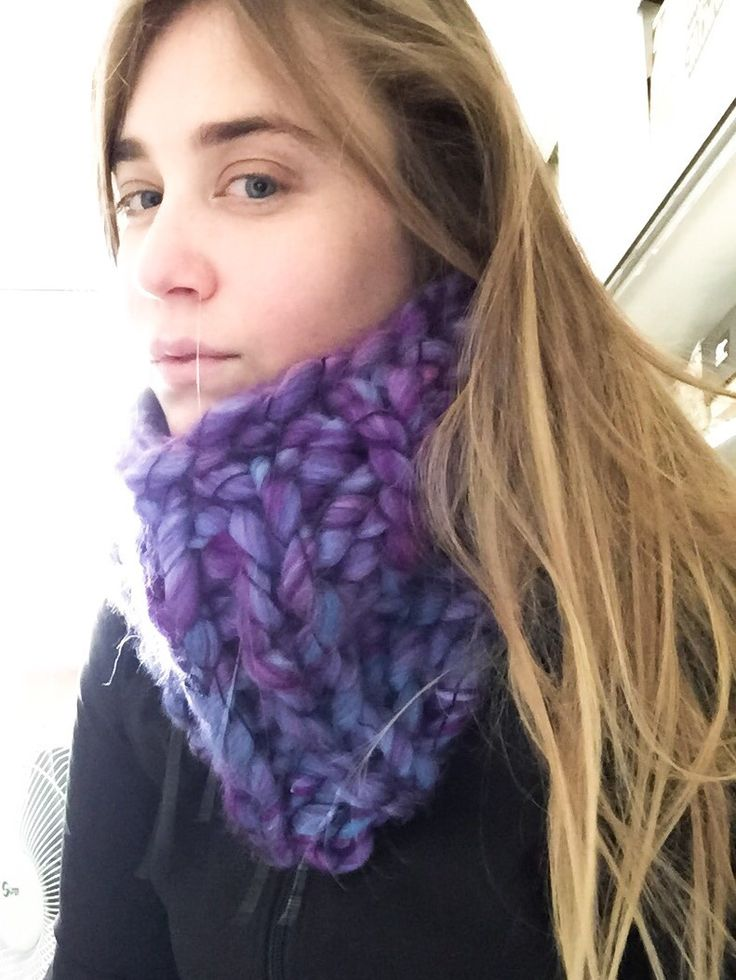 Cowl. Big, Chunky Knit Cowl by SoTwisticated