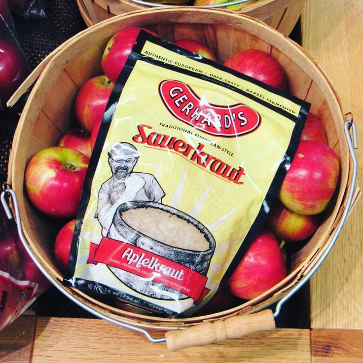 "18 Likes, 1 Comments - Chequamegon Food Co-op (@chequamegonfoodcoop) on Instagram: ""If apples and kraut got married and had a baby, it would be apfelkraut from Gerhard's Brats.…"""