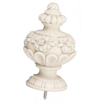Menagerie 38WF06 Constable Finial Drapery Hardware