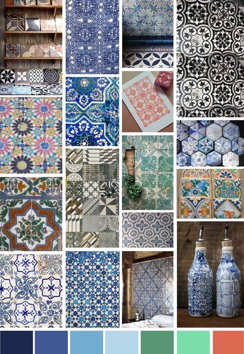 Autumn/Winter 2014 Print Trend | Tiles - Write On Trend