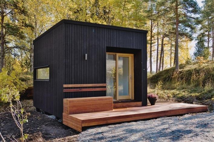 Små hus med många sidor - Friggebodar, garage, växthus och förråd