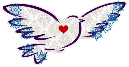 Customize your Dove with colour, background and stickers.