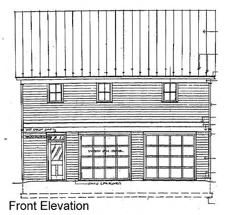 035g 0009 moreover Blueprints For Houses furthermore Single Car Carriage House Plans likewise Drawings besides Bennington. on victorian carriage house plans