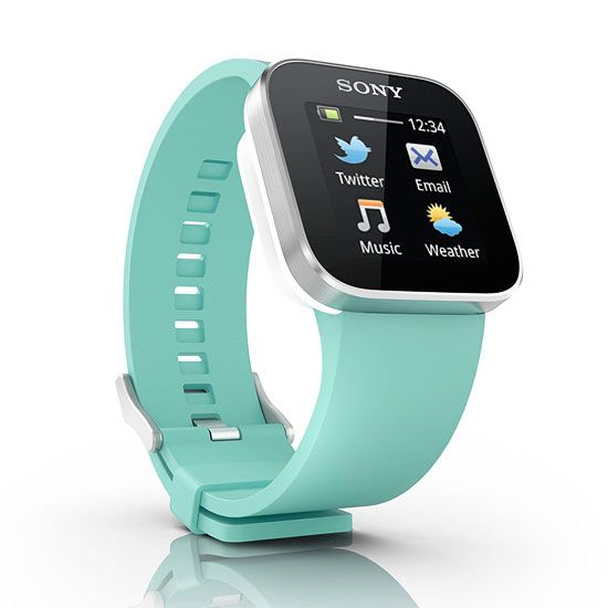 Cool the Sony SmartWatch with the mint wrist!