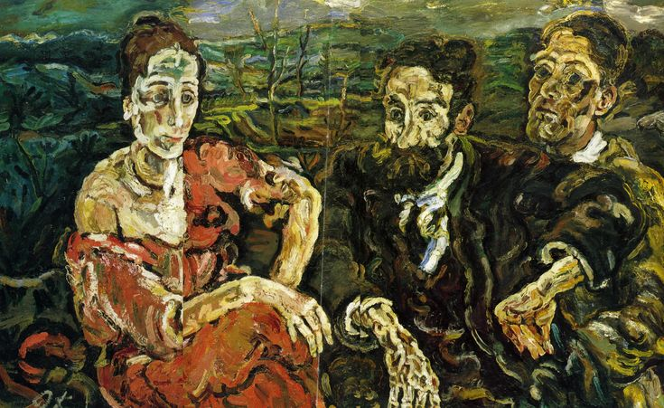 Image result for kokoschka war paintings