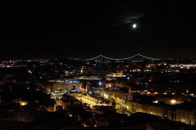 Lisbon by nigh #lovely #lisbonlovers