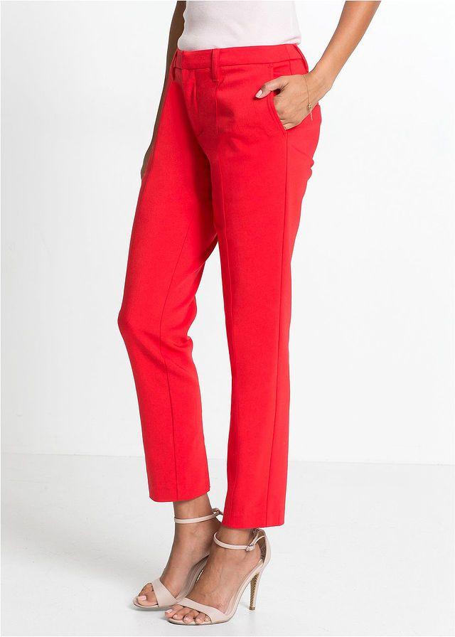 Pantaloni business cu şliţuri Un • 139.9 lei • bonprix