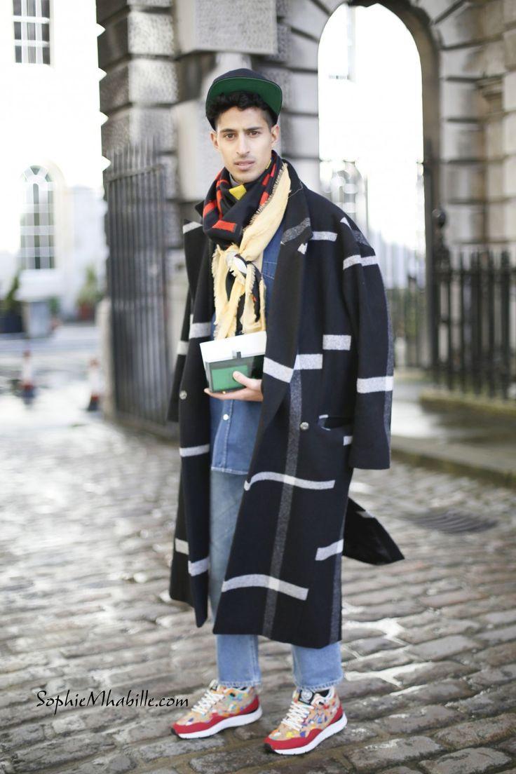 #faisalalfadda #tartan #denim #sneakers #pants #man #trousers #london #fashionweek #lfw #mbfw #men #fashion #style #look #outfit #cool #chic #streetfashion #streetstyle #street #women #mode #moda by #sophiemhabille