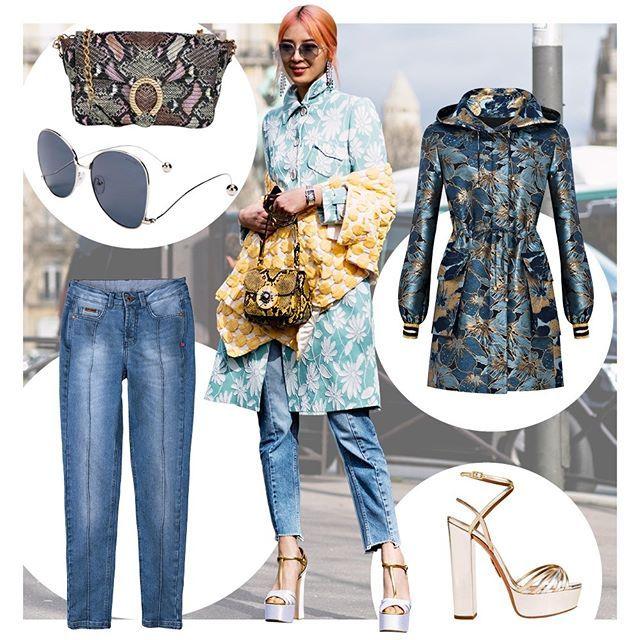 Se você achava impossível combinar cobra com jacquard@ireneisgood prova de que dá e fica (muito) bom! A bolsa de píton acende a combinação de parka estampada com mom jeans deixando o look bem mais interessante. Os óculos de lentes claras -- anote aí eles estão com tudo -- e a plataforma metalizada arrematam a produção com estilo. Bora se inspirar nela? (: #IMaxTree e Divulgação)  via GLAMOUR BRASIL MAGAZINE OFFICIAL INSTAGRAM - Celebrity  Fashion  Haute Couture  Advertising  Culture  Beauty…