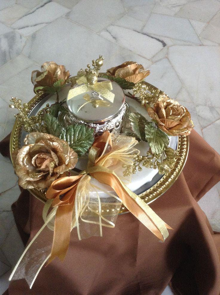 Wedding Hantaran | Gold & Brown