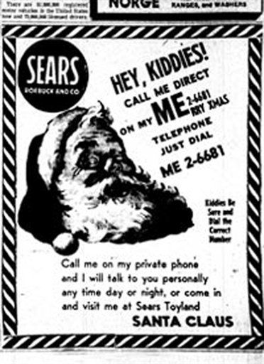 30 best deaf culture images on pinterest deaf culture sign the sears advertisement that led to the the norad santa tracker click through for fandeluxe Gallery