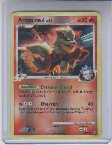 Arcanine Reverse Holo Rare Pokemon #15