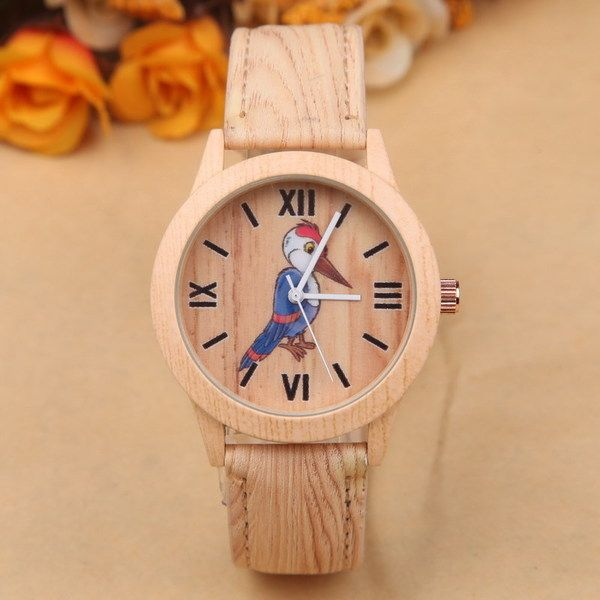 Wood grain watches, Christmas gift, birthday gift, from JiuYueHao by DaWanda.com