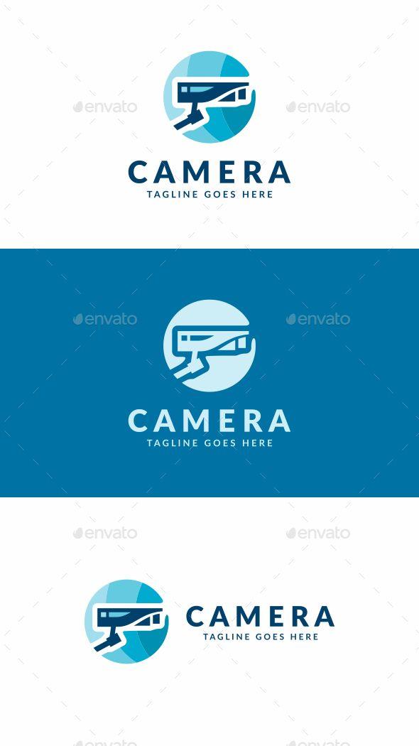 Security Camera Logo Template Vector EPS, AI Illustrator #design ...