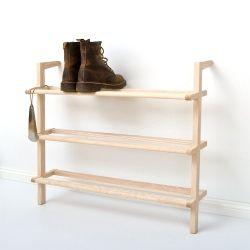 Leaning shelf Gaston shoe rack